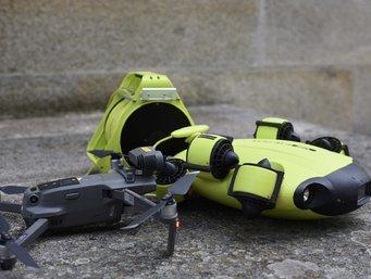 ICOVI auxiliou buscas por Noah com Drone Submarino e Aéreo