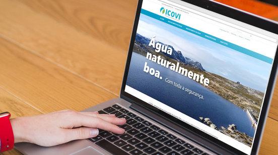 Novo website mais moderno e funcional
